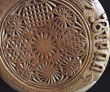 Rare Antique Heavily Carved Bread Board - picture 5