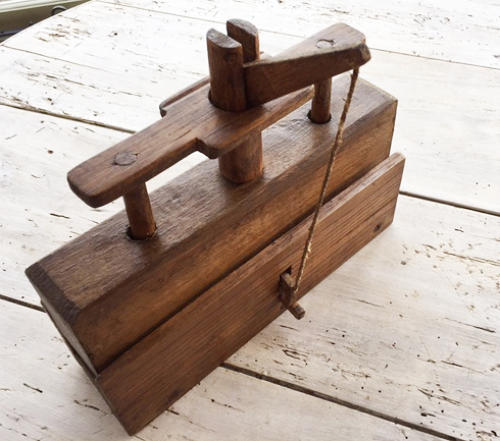 Antique Deadfall Mousetrap