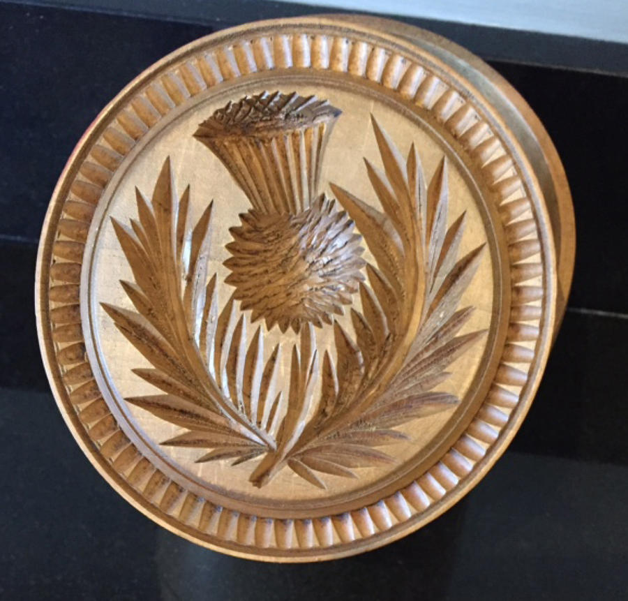 Large (Thistle) Butter Stamp