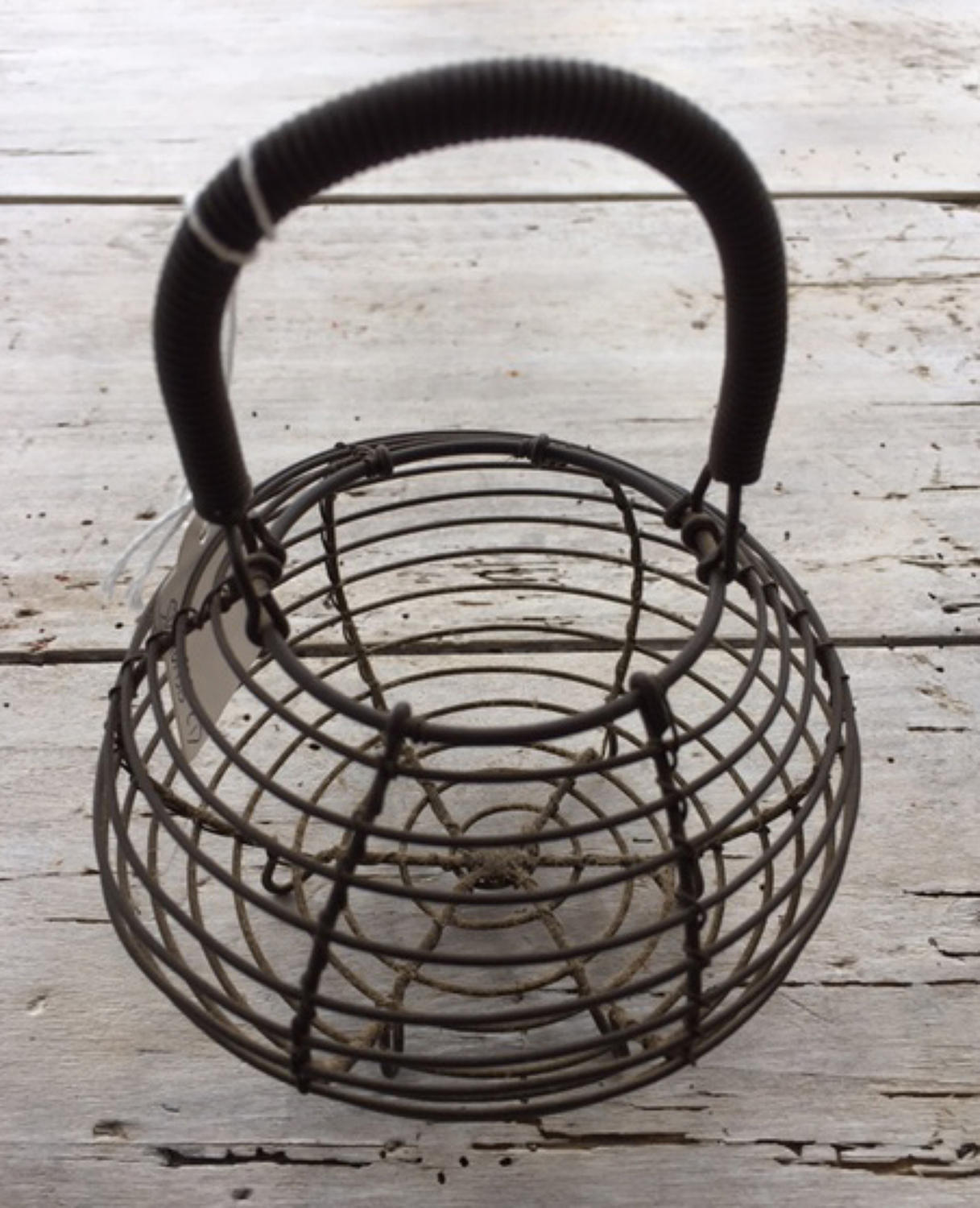 Antique Wiework Garlic Basket
