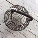 Antique Wiework Garlic Basket - picture 2