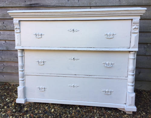 Large Chest Of Drawers (Pavillion Grey)