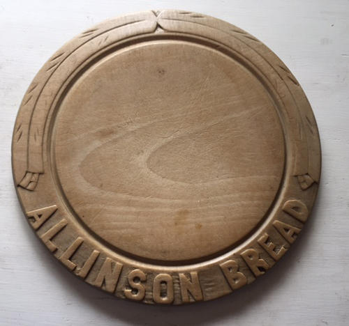 Carved Allinson Bread Board