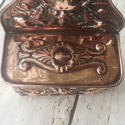 19th Cent Copper Match/Spill holder - picture 9