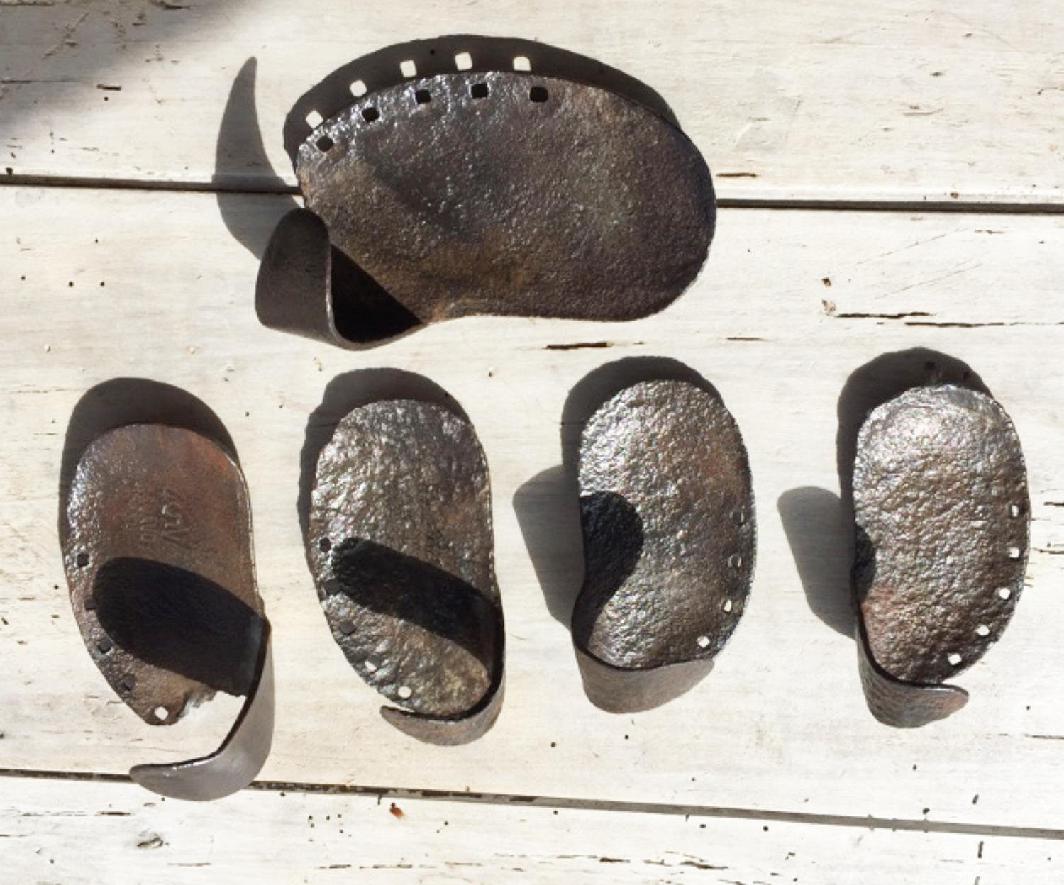 Antique Drover's Cow Shoes