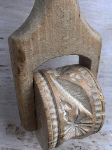 Antique Sycamore Butter Roller