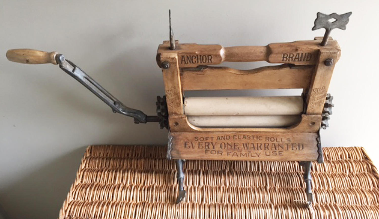 Antique Portable Mangle