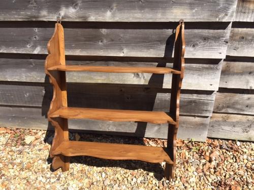 Antique Pine Wall Shelves