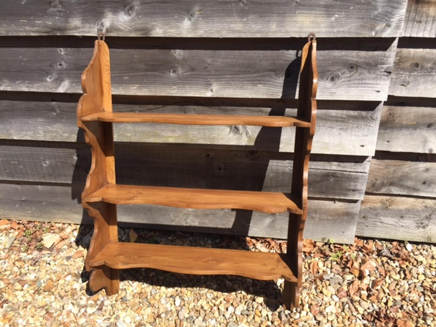 Antique Pine Wall Shelves