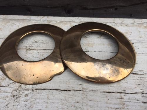 Rare Bronze Pub Quoits