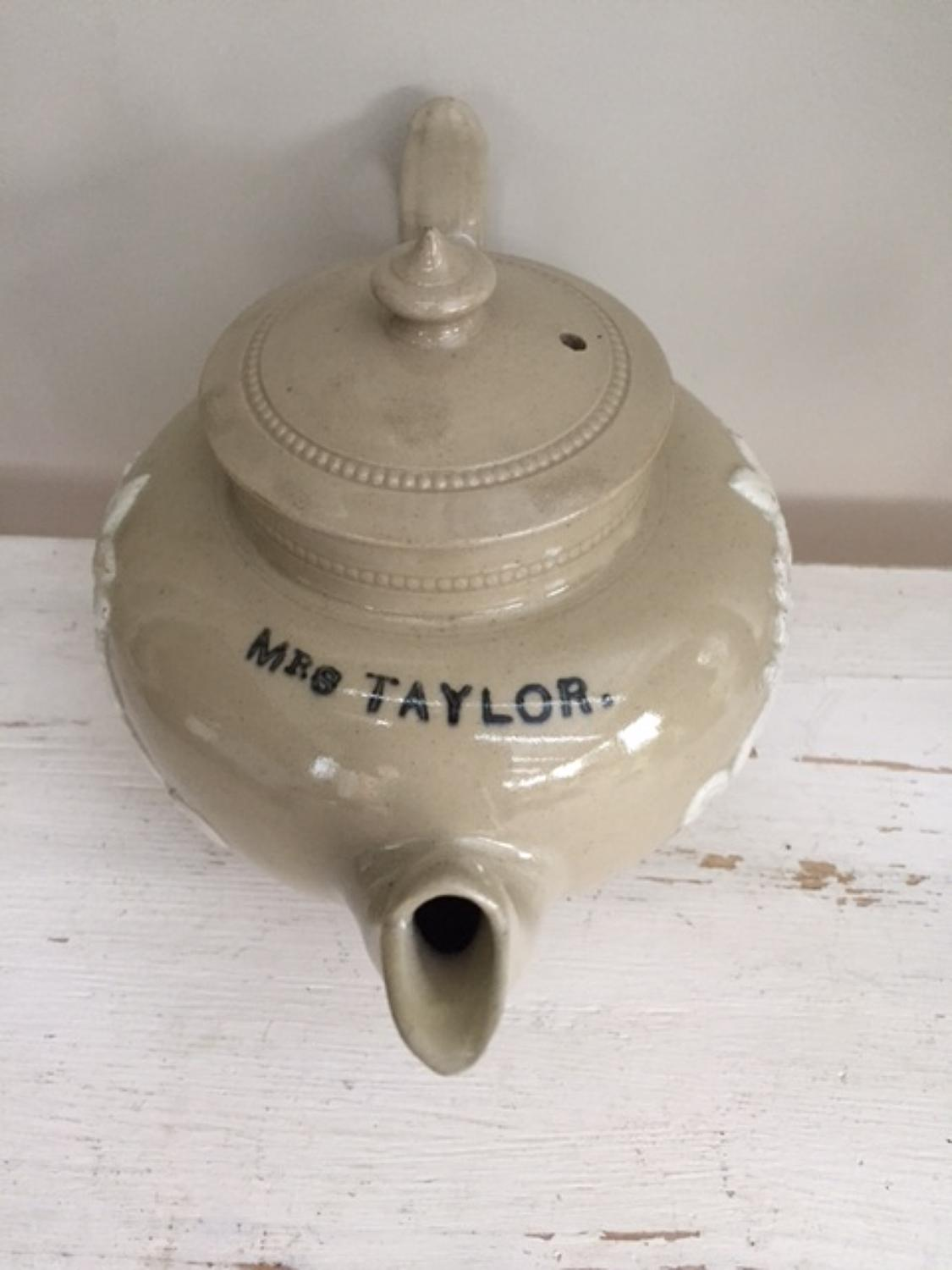 Mrs Taylor's Tea Pot
