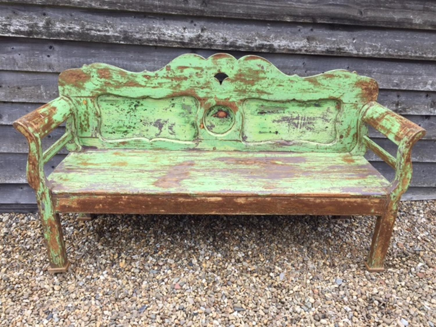 Fine Antique Gustavian Bench