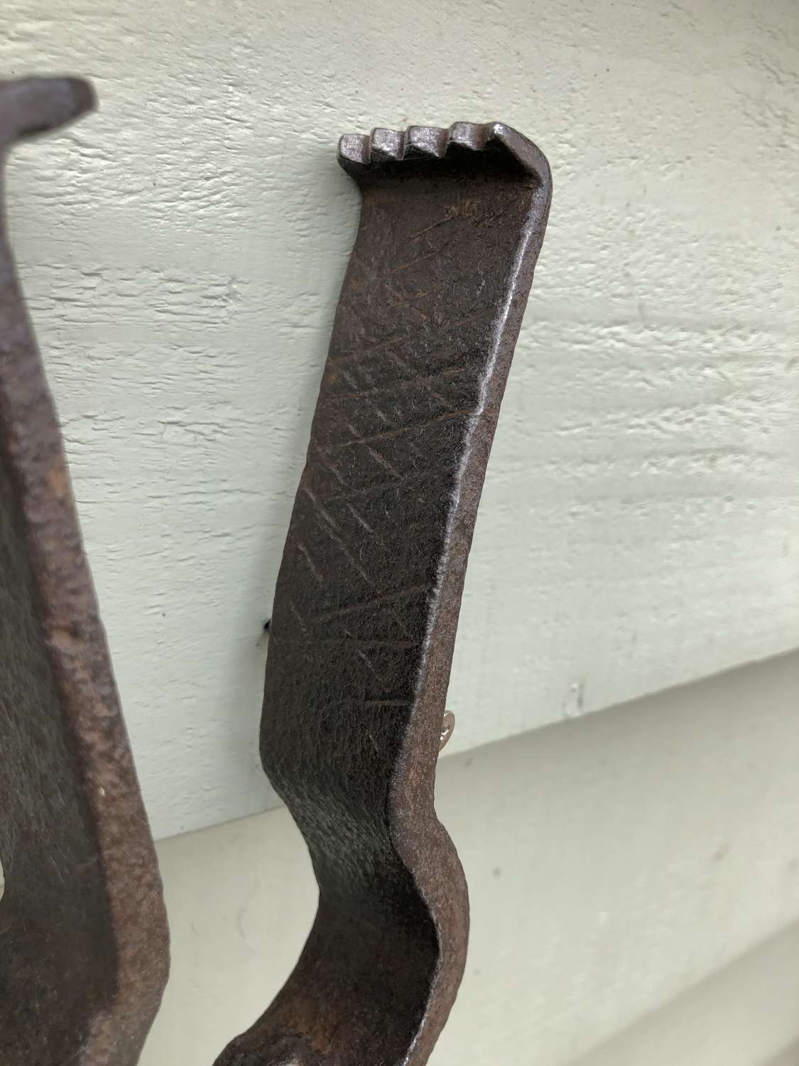 19th Cent Gardener's Thistle Tongs