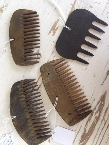 Various Horse Mane and Tail Combs