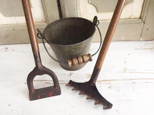 Vintage Child's Gardening tools