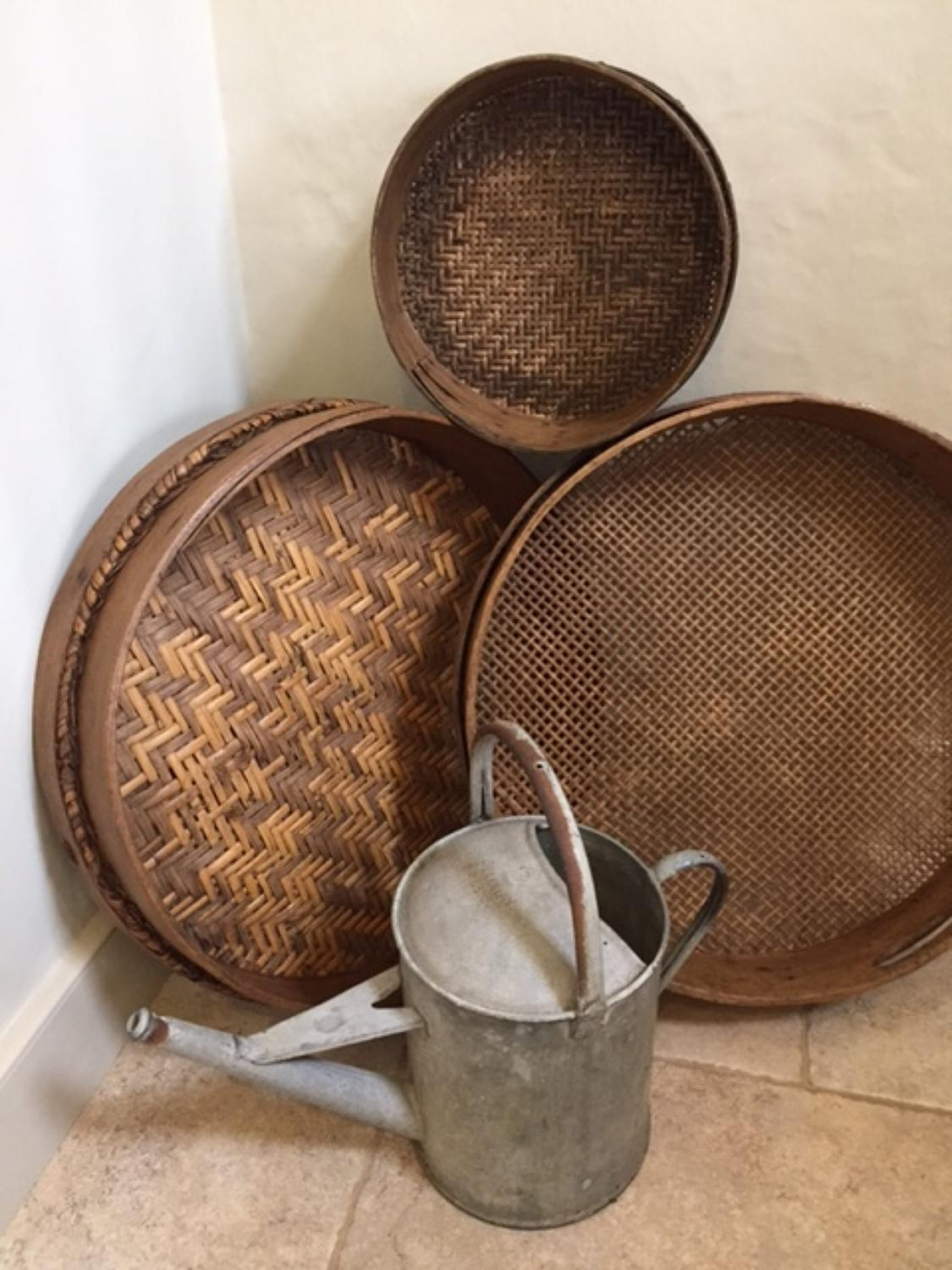 Victorian Horse Feed Sieves