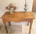 Antique Pine Side Table - picture 1