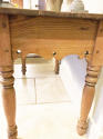 Antique Pine Side Table - picture 2