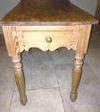 Antique Pine Side Table - picture 3
