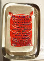 Edwardian Glass Advertising Paperweight - picture 2