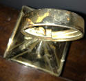 19th Cent Small Brass Hand Lantern - picture 3