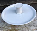 Edwardian White Ironstone Cake Stand Tazza - picture 2