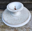 Edwardian White Ironstone Cake Stand Tazza - picture 3