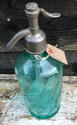 Antique French Turquoise Syphon - picture 3
