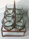 Antique Tea Glass Rack - picture 2