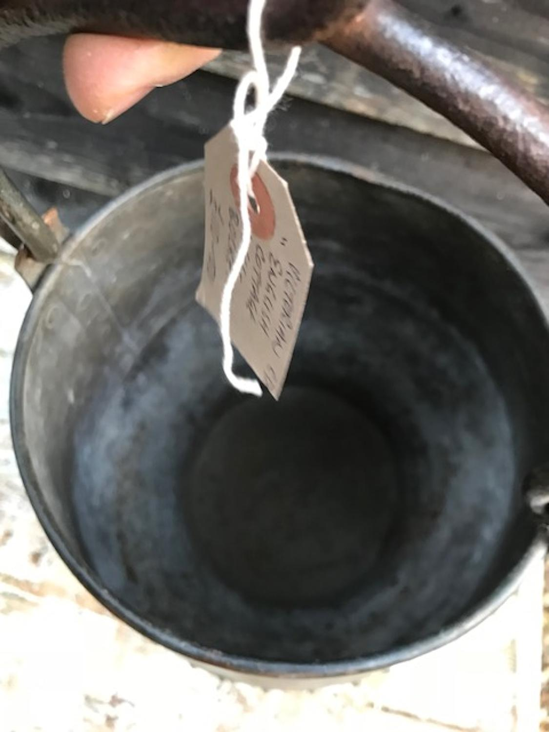 English Well Bucket of small size