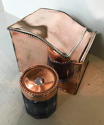Victorian Copper Ink Well - picture 3