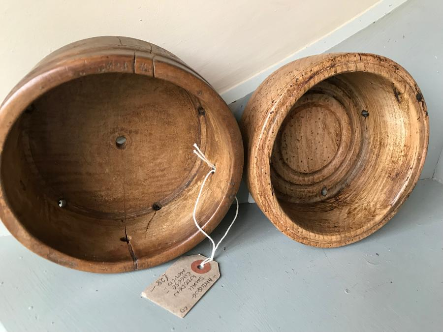 Small Antique Cheese Moulds