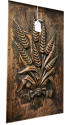 Antique Carved Panel - Wheatsheaf - picture 2