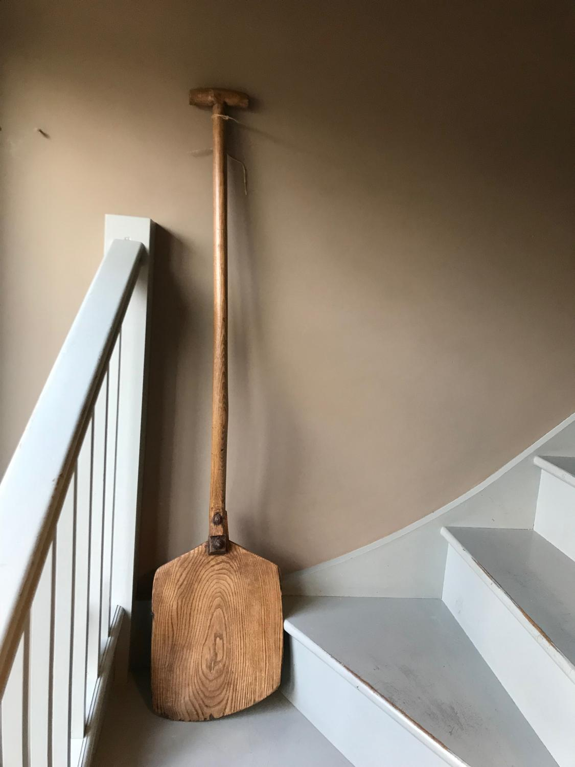 East Anglian Long Handled Grain Shovel