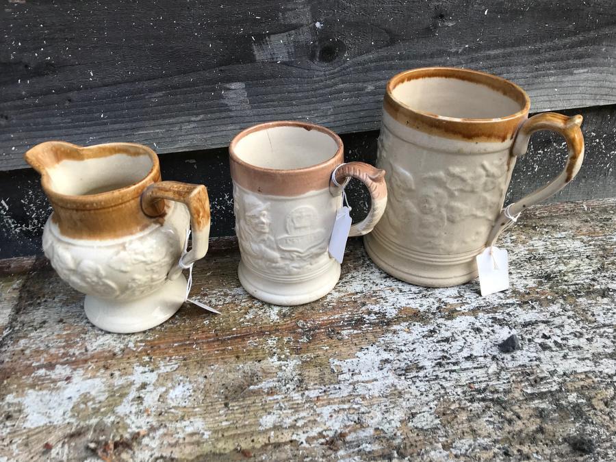 Victorian Pub Mugs & Jugs