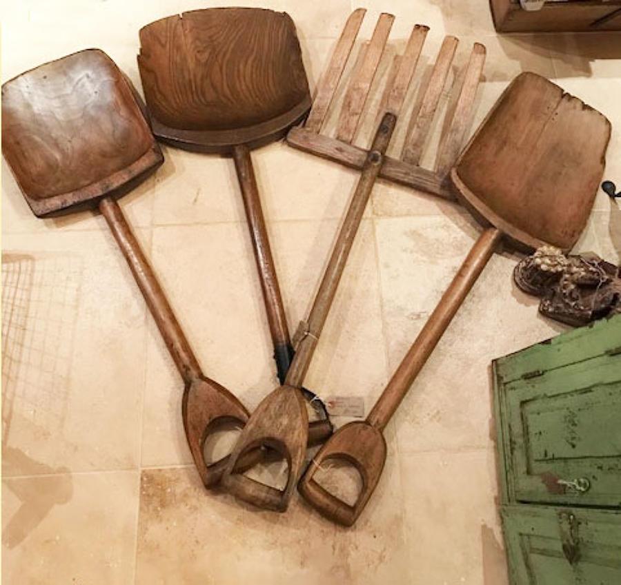 Various Malt (Grain) Shovels