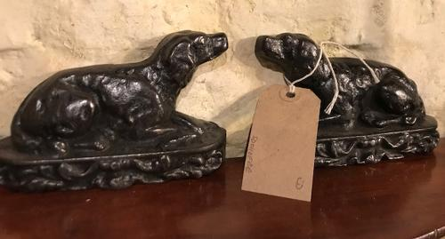 Victorian Sporting Dog Chimney Pieces