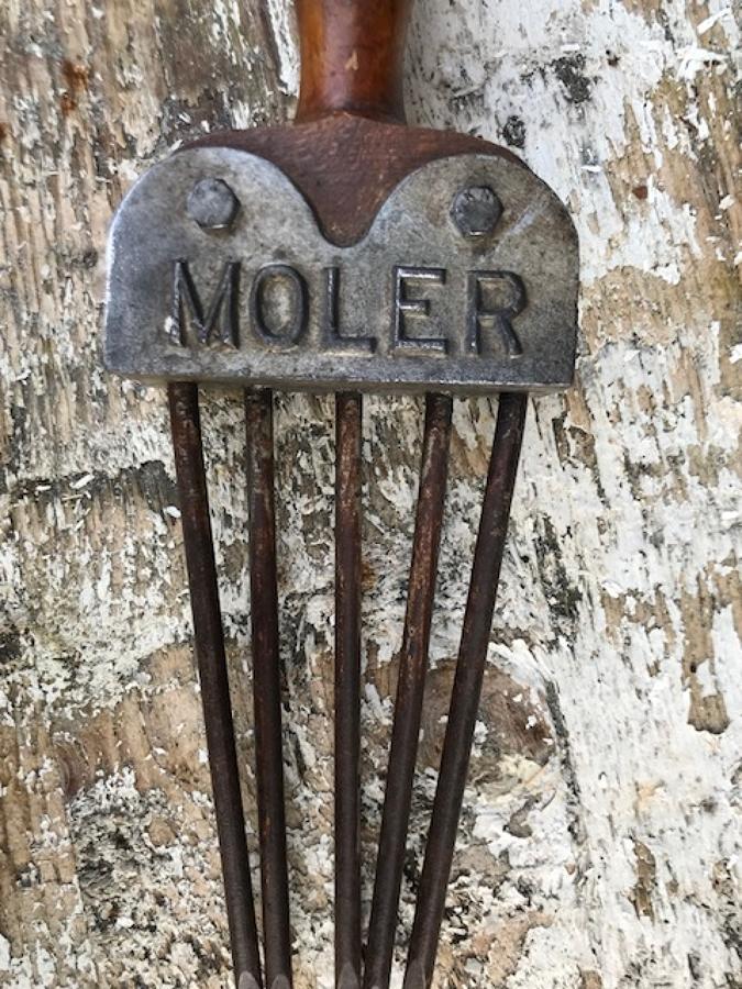 Antique Mole Catcher's Fork
