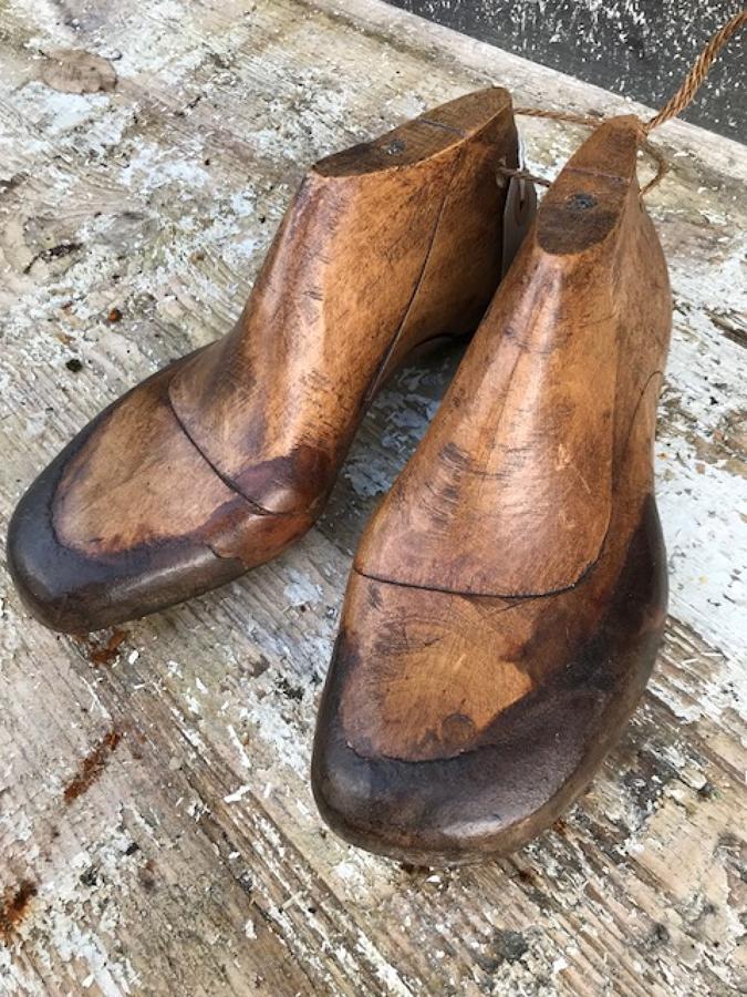 Antique Cobbler's Shoe Moulds