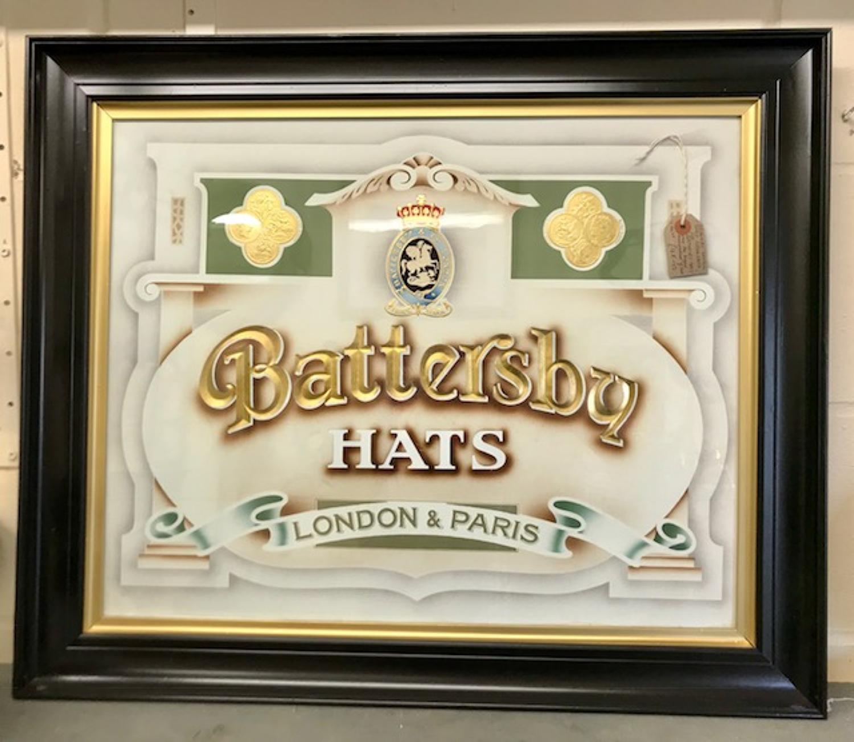 Antique Battersby Hats Advertisment