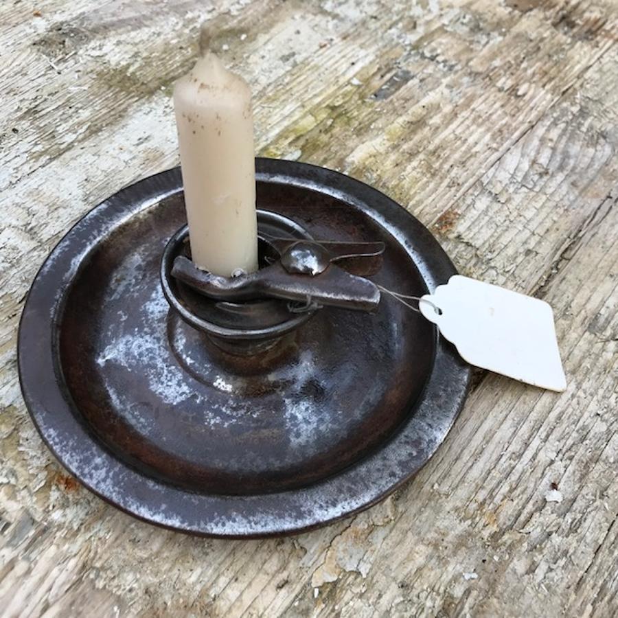 Old Pliar Grip Candlestick