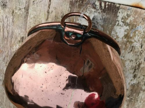 19th Cent Copper Ale Funnel