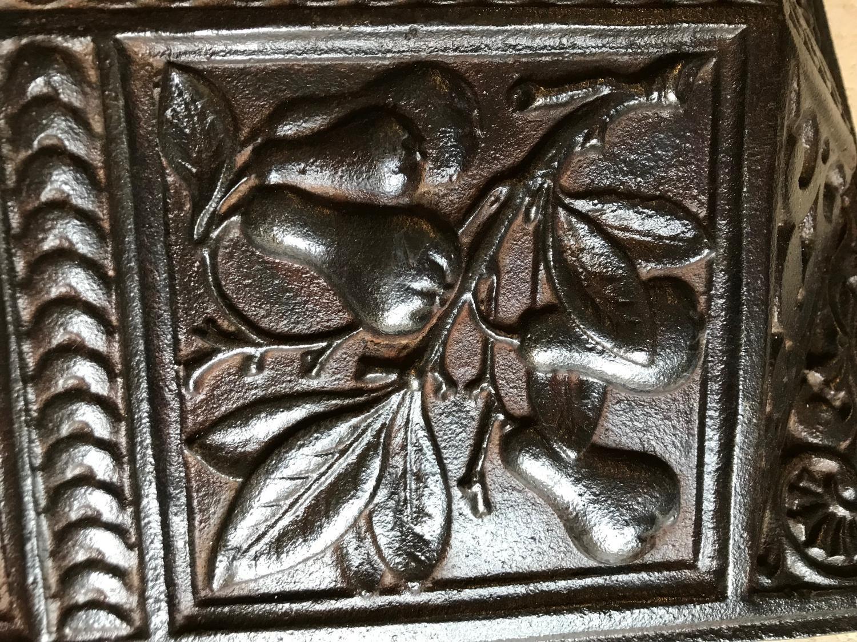 Victorian Cast Iron Fireplace Hood