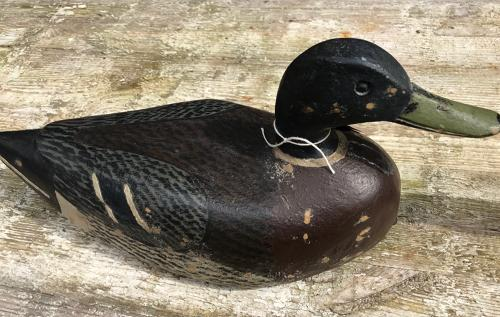 Matching Pair of Original Duck Decoys