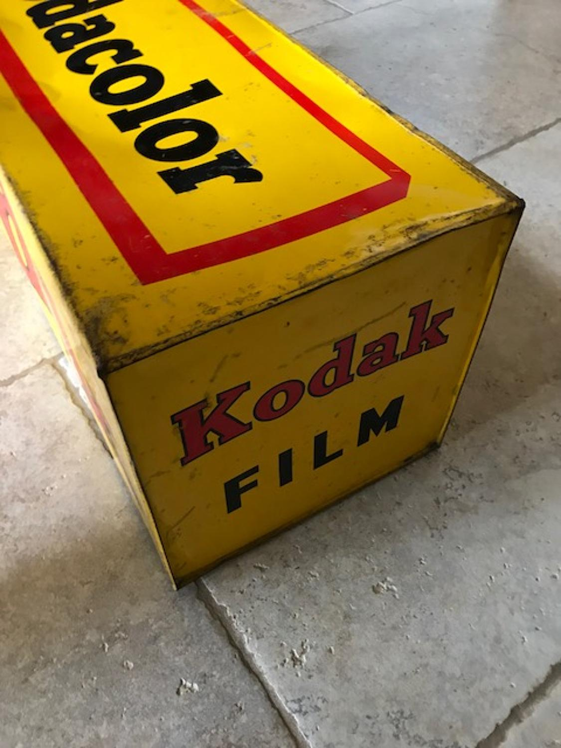 Kodak Shop Display Film Carton
