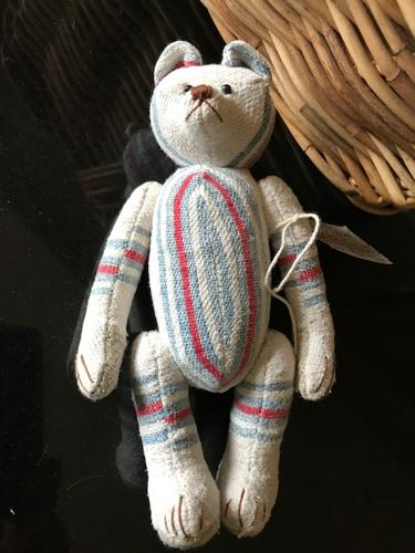 Vintage Style Articulated Teddy Bear