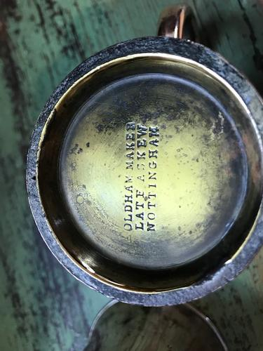 Edwardian Copper 1/5 pint Pub Tankards