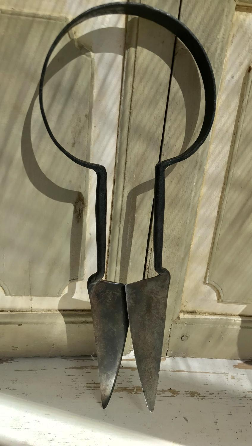 Very Large 18th cent Sheep Shears