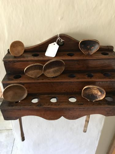 19th Cent Welsh Spoon Rack