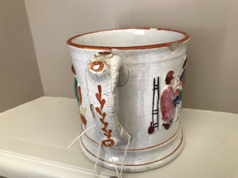 Early 19th Cent Frog Mug
